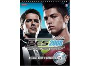 Pro Evolution Soccer 2008 Official Game Guide