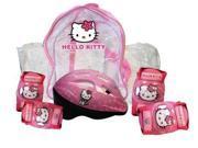 Hello Kitty Helmet, Protective Pads & Crystal Bag Ohky04