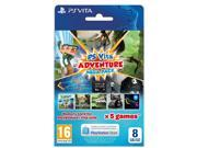 Playstation Vita Adventure Mega Pack Plus 8GB Memory Card