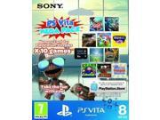 Sony PlayStation Vita 10 game Mega Pack on 8GB Memory Card