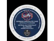 TIMOTHY'S® German Chocolate Cake Coffee K-Cup, 24/Box For Keurig Brewers