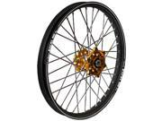Talon Wheel 1.60X14 Gld Hub Blk Rim 56-1113Gb