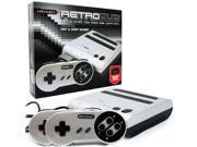Retro-Bit Retro Duo Twin Video Game System, Silver/Black