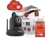 Foscam FI9821P Plug & Play Megapixel 1.0 Megapixel 1280 x 720 Wireless/Wired Pan/Tilt IP Camera with IR-Cut (Black)