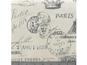DUC1-23 Steel Drake French Stamp Fabric