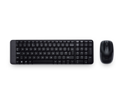 Logitech MK220 2.4G Wireless Optical 1000dpi Mouse+Keyboard