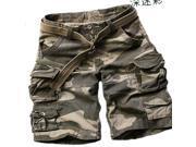 Mens Cargo Pocket Shorts Military-Style