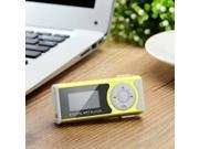 "1.0"" OLED Display MP3 Player w/ Torch / Clip / TF / Mini USB / 3.5mm"