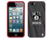 Coveroo iPhone 5/5S Red Slider Case with Brooklyn Nets Jersey Design