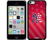 Coveroo iPhone 5C Black Thinshield Snap-On Case with New York Yankees USA Red Design