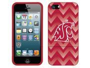 Coveroo iPhone 5/5S Red Slider Case with Washington State Gradient Chevron Design