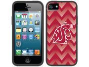 Coveroo iPhone 5/5S Black Switchback Case with Washington State Gradient Chevron Design