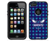 OtterBox iPhone 5/5S Black Commuter Series Case with Charlotte Hornets Plaid Design by Coveroo