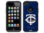 OtterBox iPhone 5/5S Black Commuter Series Case with Minnesota Twins Tokidoki Peeking Design by Coveroo