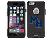 OtterBox iPhone 6 Black Commuter Series Case with Mars Hill Bible School Design by Coveroo