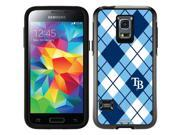 OtterBox Samsung Galaxy S5 Mini Black Symmetry Series Case with Tampa Bay Rays Argyle Design by Coveroo