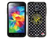 OtterBox Samsung Galaxy S5 Mini Black Symmetry Series Case with Columbus Crew Polka Dots Design by Coveroo