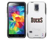 OtterBox Samsung Galaxy S5 Glacier Commuter Series Case with Milwaukee Bucks Bucks Design by Coveroo