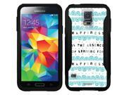 OtterBox Samsung Galaxy S5 Black Commuter Series Case with Happiness Is Design by Coveroo