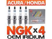 4 x NGK OE Laser Iridium Spark Plug Set > 2006-2011 Honda Civic 1.8L i-VTEC R18A