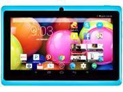 "DeerBrook® 7"" DB+ Quad Core, 8GB Storage, 1024x600 Display, Google Android 4.4 KitKat Tablet PC, Dual Camera, Bluetooth, WiFi (Sky Blue)"