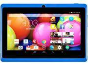 """DeerBrook® 7"""" DB+ Quad Core, 8GB Storage, 1024x600 Display, Google Android 4.4 KitKat Tablet PC, Dual Camera, Bluetooth, WiFii (Blue)"""
