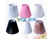 Modern fabric Lamp shades six colors for your choice can use for chandeliers