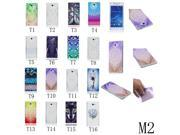 MOONCASE Soft Gel TPU Case for Sony Xperia M2 Durable Silicone Skin Cover Elephant Pattern