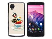 MOONCASE Hard Protective Printing Back Plate Case Cover for LG Google Nexus 5 No.5003119