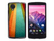 MOONCASE Hard Protective Printing Back Plate Case Cover for LG Google Nexus 5 No.5004389
