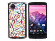 MOONCASE Hard Protective Printing Back Plate Case Cover for LG Google Nexus 5 No.5005441
