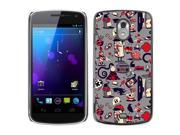 MOONCASE Hard Protective Printing Back Plate Case Cover for Samsung Google Galaxy Nexus Prime I9250 No.5002667