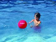 "Sprint 10"" Aquatic Exercise Ball - Green"