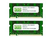 NEMIX RAM 4GB (2 X 2GB) DDR2 667MHz PC2-5300 SODIMM Memory for Apple MacBook Pro 2007 2,1