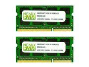 NEMIX RAM 8GB (2 X 4GB) DDR3 1066MHz PC3-8500 SODIMM Memory for Apple iMac 2009 9,1