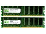 NEMIX RAM 2GB (2X1GB) DDR 333MHz PC2700 Memory for Apple Mac G5 PowerMac 7,2 & 9,1 SINGLE PROC