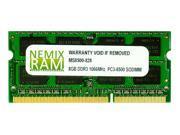 NEMIX RAM 8GB DDR3 1066MHz PC3-8500 204-pin SODIMM Laptop Notebook Memory