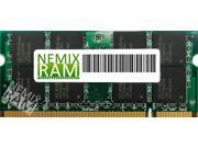 NEMIX RAM 8GB DDR3-1600MHz PC3-12800 204-pin 1.5V 2Rx8 Laptop Memory Module