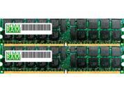 NEMIX RAM 16GB (2 x 8GB) DDR3-1066MHz PC3-8500 240-pin 1.5V Quad Rank ECC Registered Server Memory Module