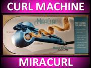 NEW!! BABYLISS PRO NANO TITANIUM MIRACURL SPIRAL IRON CURL MACHINE MIRA BABNTMC1