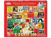 White Mountain Puzzles Classic Picture Books 300 Piece Jigsaw EZ Grip Puzzle