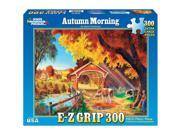 White Mountain Puzzles Autumn Morning 300 Piece Jigsaw EZ Grip Puzzle