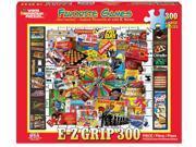 White Mountain Puzzles Favorite Games 300 Piece Jigsaw EZ Grip Puzzle