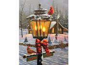 Christmas Perch 550 Piece Puzzle by White Mountain Puzzles