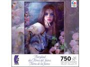 Fairyland Midnight Rose 750 Piece Puzzle by Ceaco