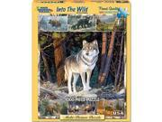 Into the Wild 1000 Piece Puzzle by White Mountain Puzzles