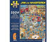 The Fire Station 550 Piece Puzzle by Ceaco
