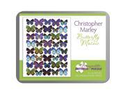 Butterfly Mosaic 100 Piece Puzzle by Pomegranate