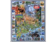 Best of Maine Puzzle by White Mountain Puzzles
