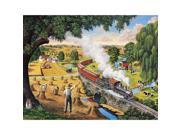 Days Gone By 300 Piece Puzzle by White Mountain Puzzles
